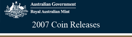 Royal Australian Mint 2007 Releases
