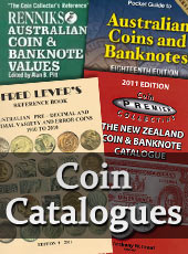 coin catalogues side banner