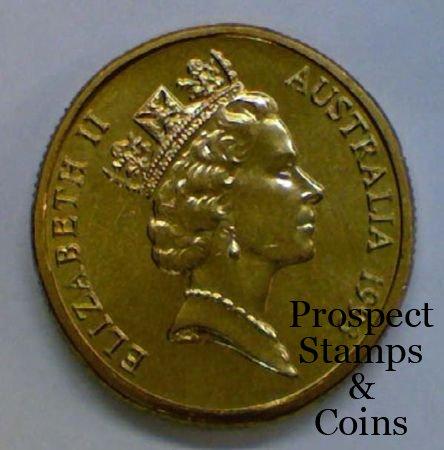 Home :: Australian Coins :: Australian Decimal Coins 1966 - 2019 :: 1993  Landcare One Dollar ($1) Uncirculated Australian Decimal Coin - No Mintmark  -