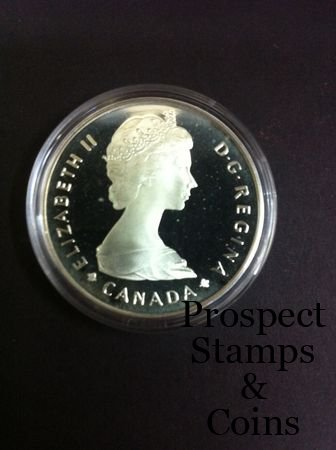 Home :: World Coins :: 1985 Canada National Parks One Dollar Silver Coin