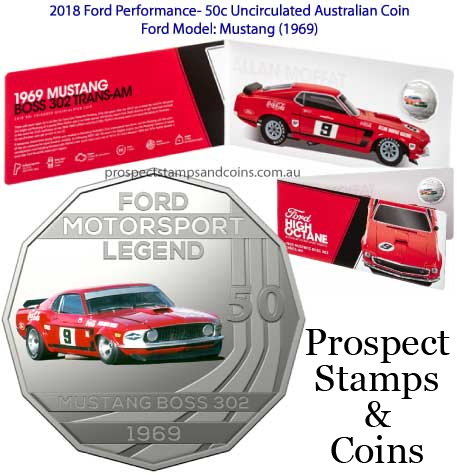2018 Ford Motorsport Seven-Coin Collection In stock