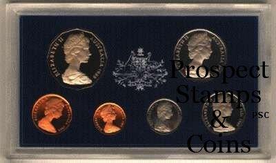 Australia & Oceania New Zealand Proof Set 1969 Royal Australian Mint